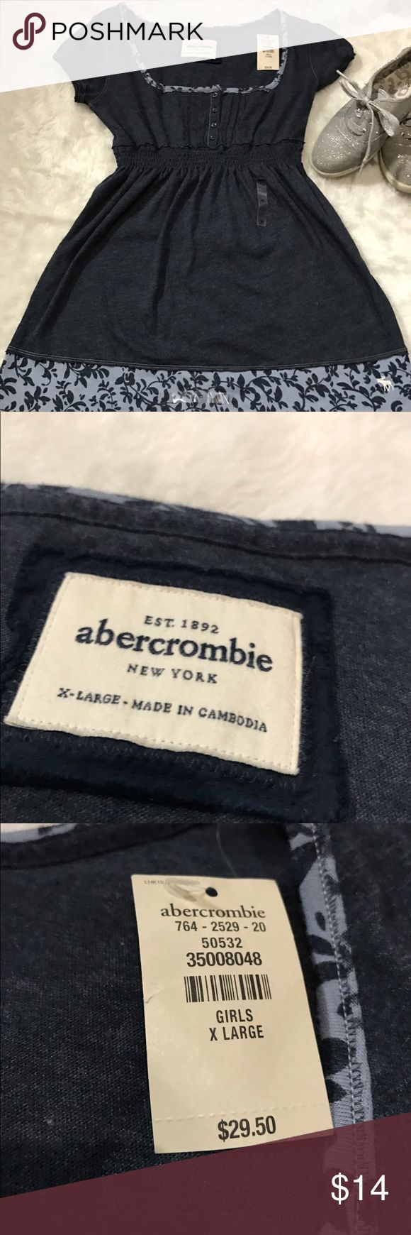 Abercrombie Girls X Large short sleeve Top NWT New with tag. No noted defects. Girls xl. 🚫No trades ✅Reasonable offers submitted though offer button accepted. 🚭Smoke free home💌Laundered before shipped abercrombie kids Shirts & Tops