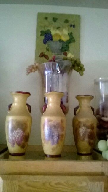 17 Best images about Grapes, wine & vines for the kitchen  ~ 155534_Kitchen Decor Ideas Grapes