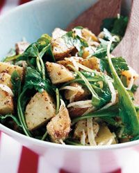 Warm Potato Salad with Arugula - Best New Chefs' Summer Sides on Food & Wine