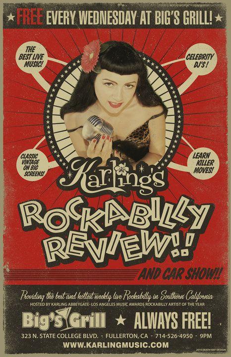 rockabilly poster - Pesquisa Google