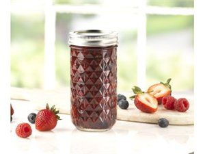 Buy Kerr® 12-oz. Quilted Crystal Jelly Jars, Set of 12 by Kerr® at Fresh Preserving Store. Get Jars and Kerr®, along with reviews, home entertaining tips and more. Cook and Entertain like a pro with kitchenware from the Fresh Preserving Store. from Fresh Preserving Store