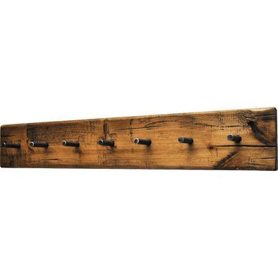 found it at wayfair rustic plank wall mounted coat rack