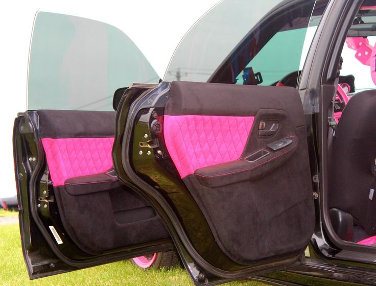 25 best ideas about pink car interior on pinterest sexy cars pink cars and luxury cars. Black Bedroom Furniture Sets. Home Design Ideas