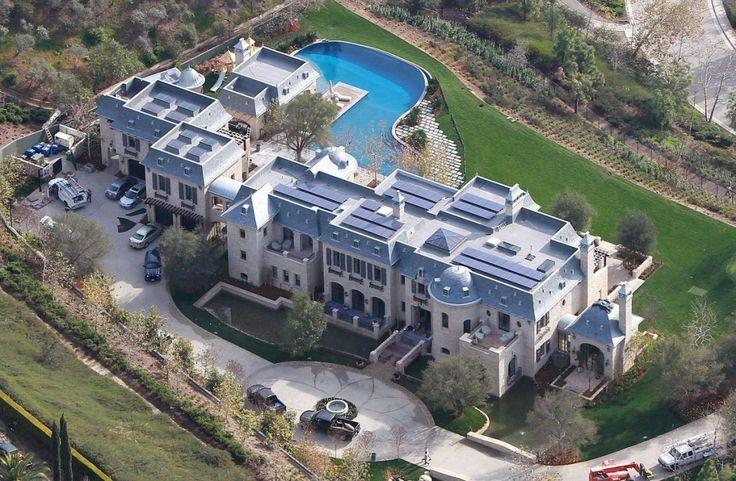 Tom Brady And Gisele Home | Tom and Gisele Brentwood House