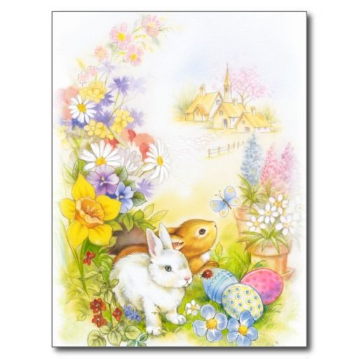 211 best Easter Invitations and Cards images on Pinterest Easter - easter postcard template