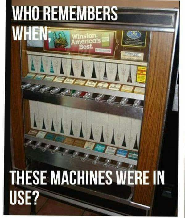 Even though I was a kid, I do remember these.
