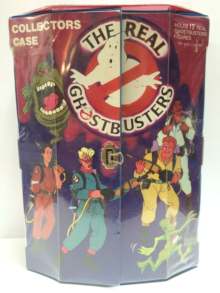 (TAS030603) - 1984 Columbia Pictures The Real GhostBusters Collectors Case