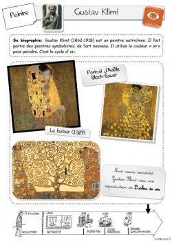 histoire des arts L'arbre de vie de Gustav Klimt