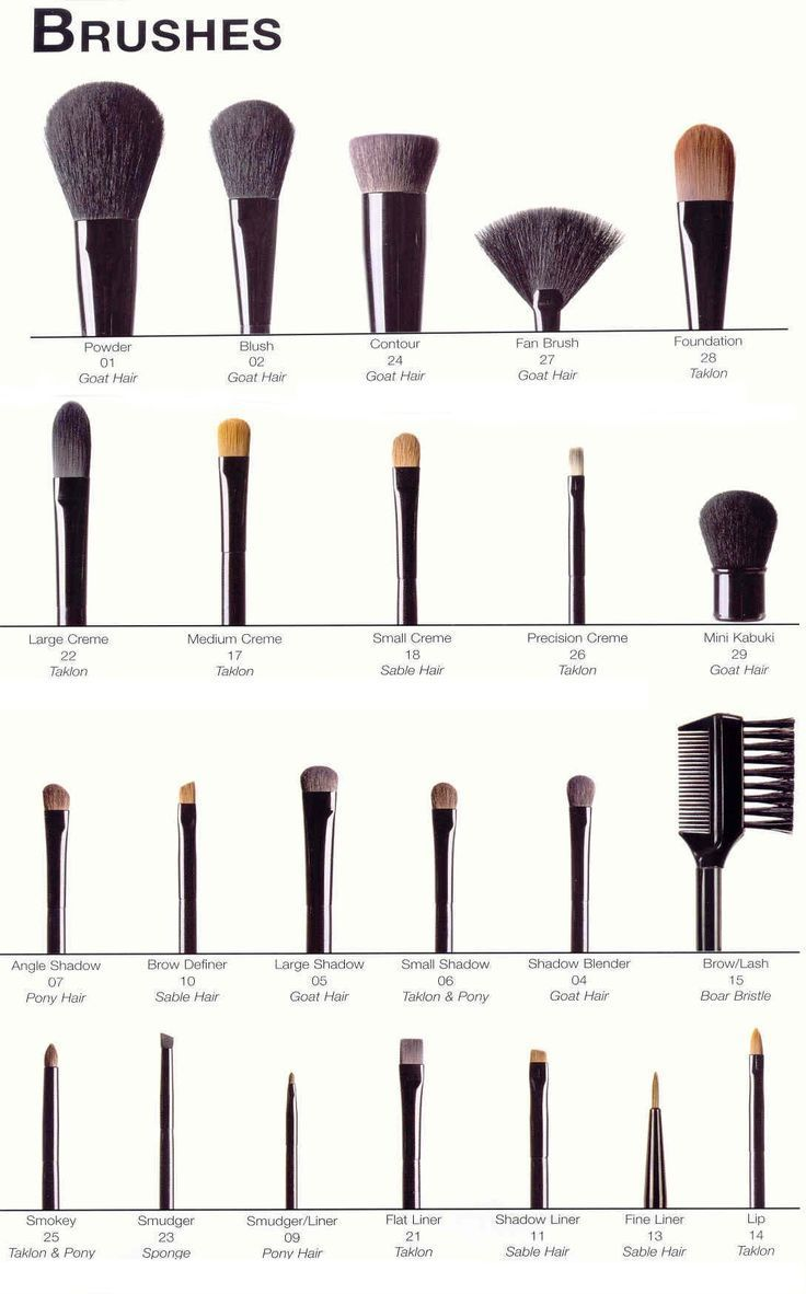 professional make-up brushes I have so many brushes I need to remember which is for what | thebeautyspotqld.com.au