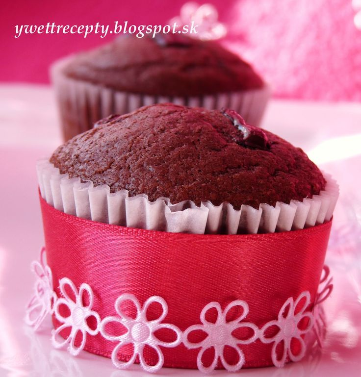 Čokoládové+muffiny