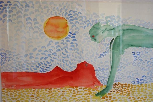 Hanlie Bosch - watercolours