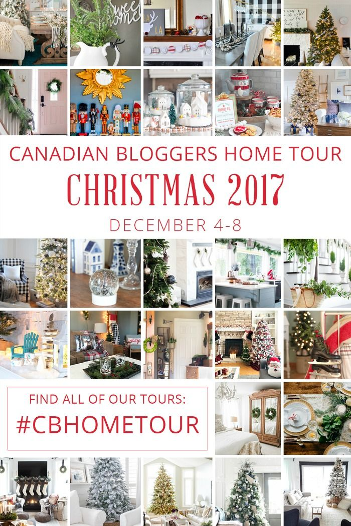 Canadian Bloggers Home Tour Christmas 2017