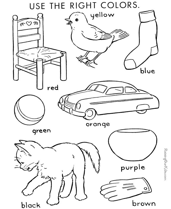 color by number coloring page for kids 004 following directions coloring for kids. Black Bedroom Furniture Sets. Home Design Ideas