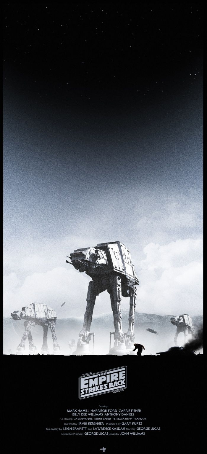 Battle of Hoth by Noble-6 https://society6.com/product/battle-of-hoth-kj8_print?curator=travislove  #StarWars Hoth #Battlefront #PromoteAnArtist