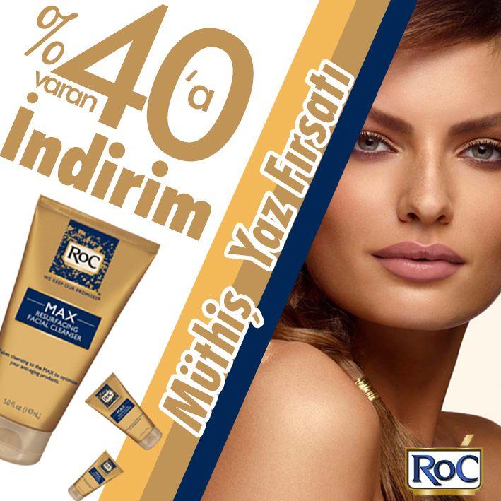 Roc ürünlerin de % 40' a varan inanılmaz indirimler. Turuncukasa sayfamızı inceleyerek roc ürünleri fırsatlarından yararlanabilirsiniz. #roc #indirim