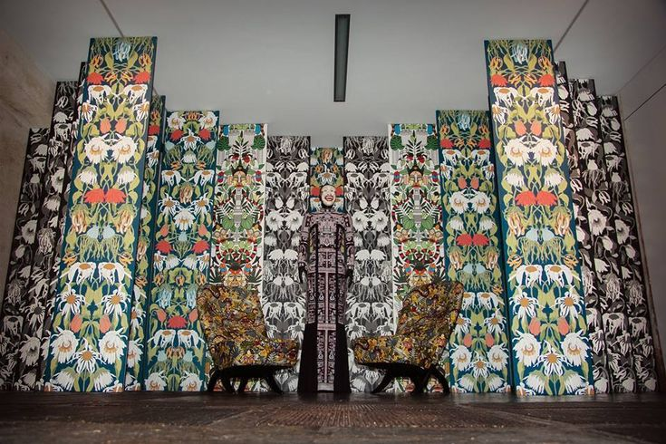 Beautiful Presentation Of The NLXL Archives Wallpaper By Studio Job During ELLE Festival In AMSTERDAM