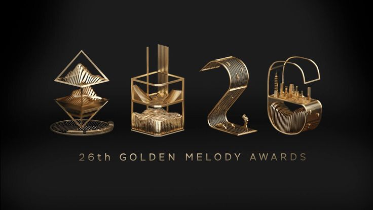 26th Golden Melody Awards in Taiwan.   #font #design #Taiwan #typeface