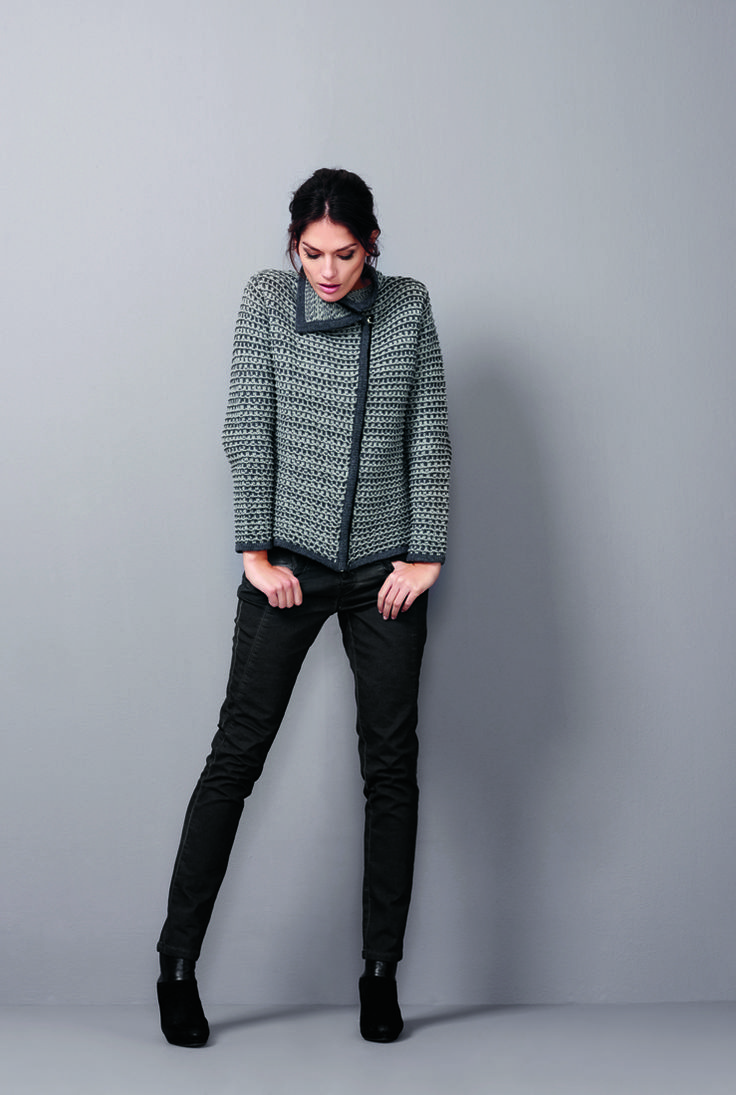 soyaconcept - knitcardigan - cardigan - pants - jeans