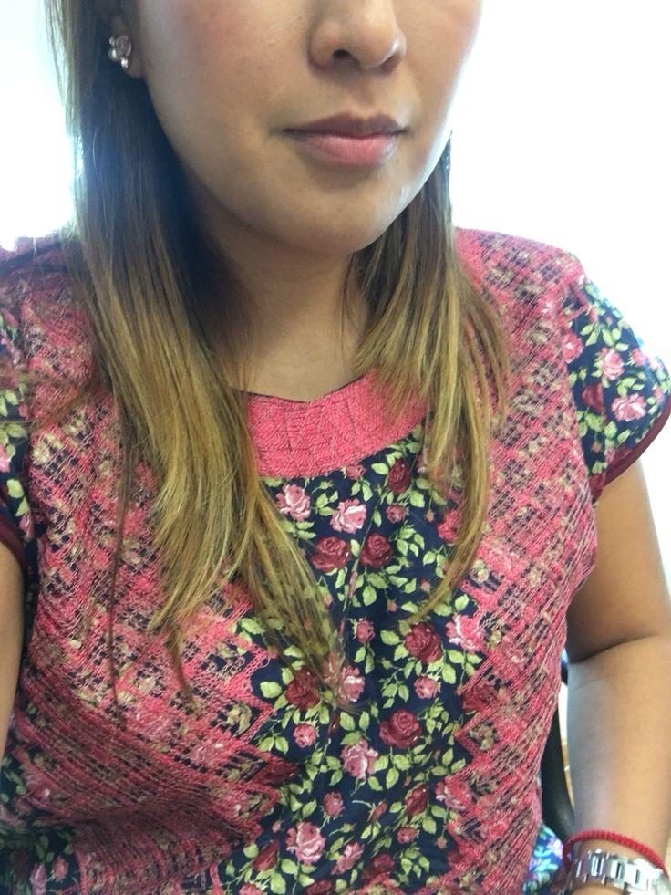 Blusa oaxaqueña  #flowers