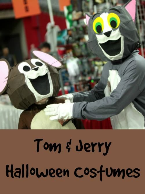 Tom and Jerry Halloween costumes for kids and adults will make you smile! You'll find some really cute Tom and Jerry costumes here for kids and adults.