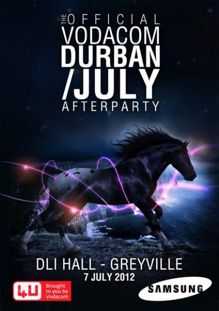 Win tickets to the official Durban July afterparty!