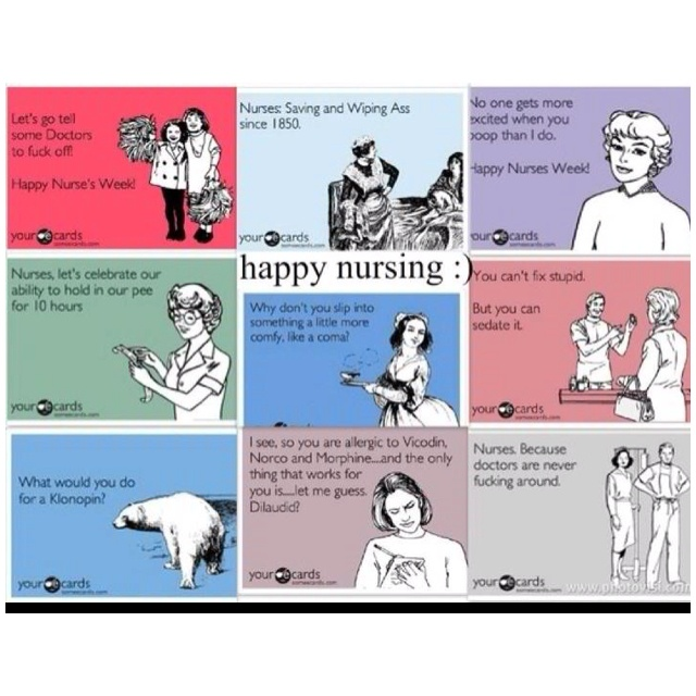 Nurses Week Funny Quotes: Happy Nurses Day!!
