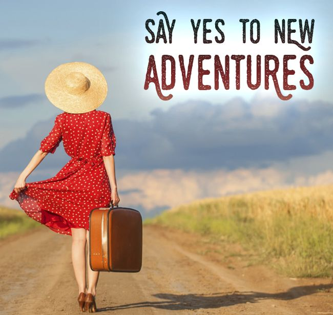 Say yes to new #adventures! #travel #explore #world #places