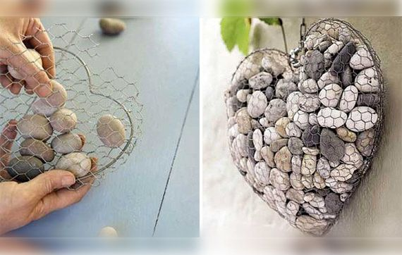 Garden DIY Ideas Using Rocks  6