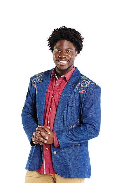 Evicted | GODFREY MANGWIZA, 22, Toronto [from Zimbabwe], Psychology Student | A Zimbabwe-born Psychology major from Toronto who won't stop at anything to win the $100,000. | HOH: 1 • POV: 1 • Nominated: 5 | Episode 29 • May 27, 2015