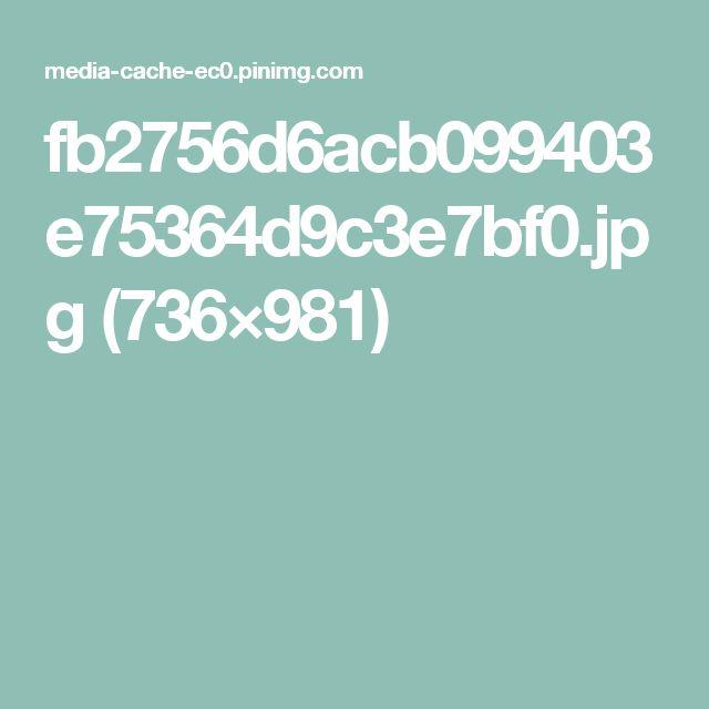 fb2756d6acb099403e75364d9c3e7bf0.jpg (736×981)