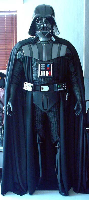 Adult Darth Vader Cape Pattern