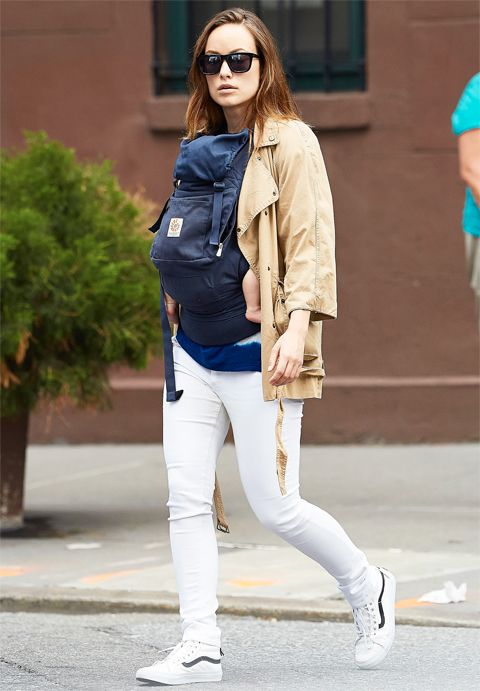Trend to Wear Now: See how the stars (like Olivia Wilde!) style their white pants  #InStyle