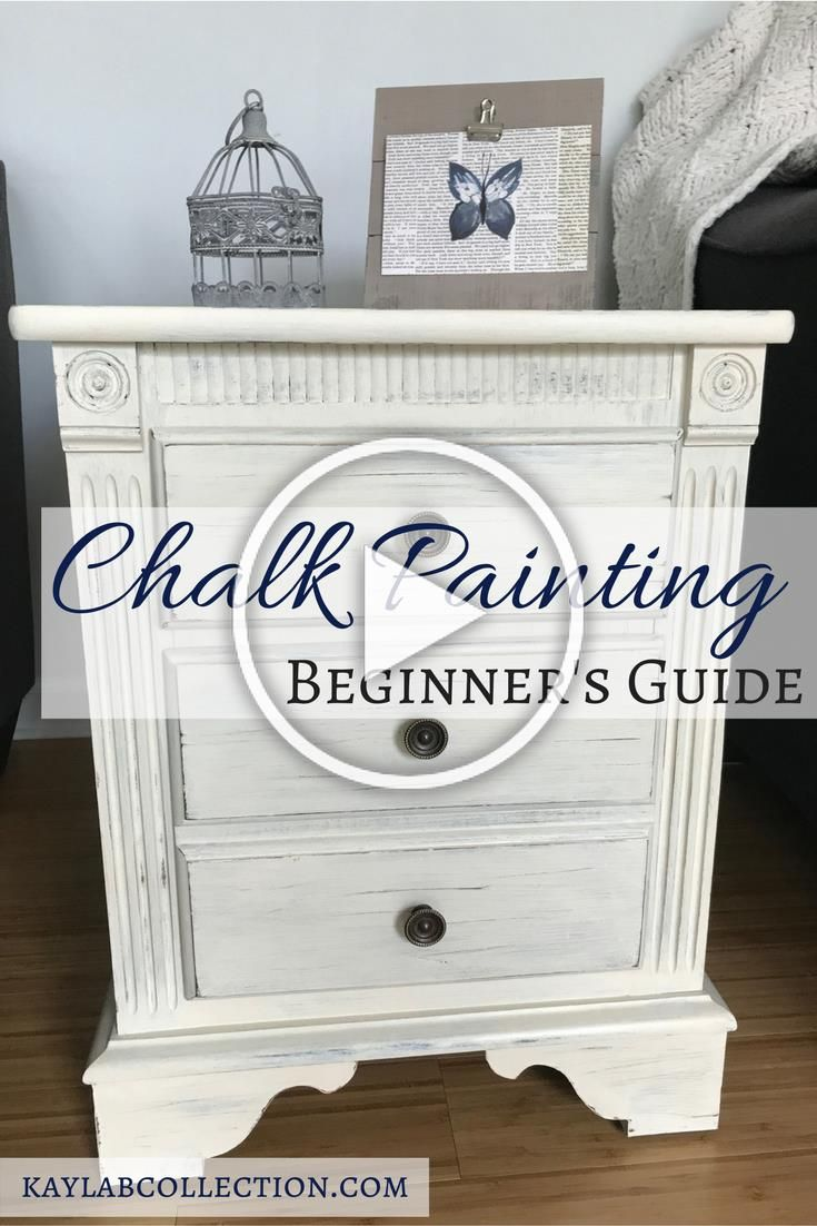 Step By Step Tutorial To Chalk Paint Old Furniture And Make It Like Brand New Painting Old Furniture Painting Furniture Diy Chalk Paint Furniture Diy