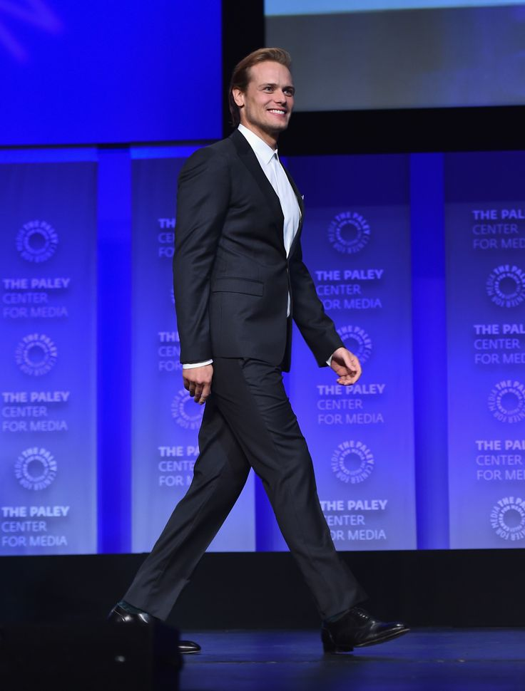 More HQ Pics of Caitriona Balfe, Sam Heughan, Tobias Menzies at PaleyFest | Outlander Online