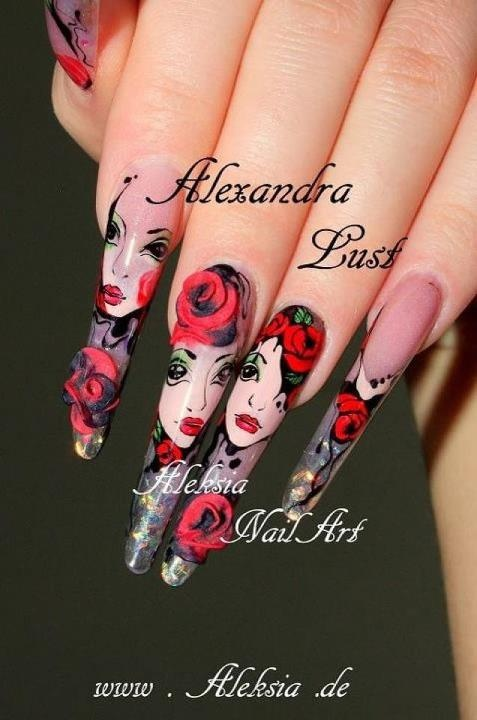 Amazing nailart!