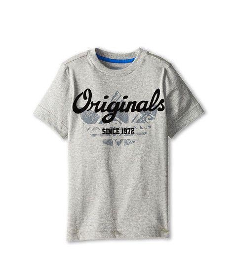 awesome adidas Originals Kids Rock Tee 3 (Toddler/Little Kid/Big Kid) Dark Blue