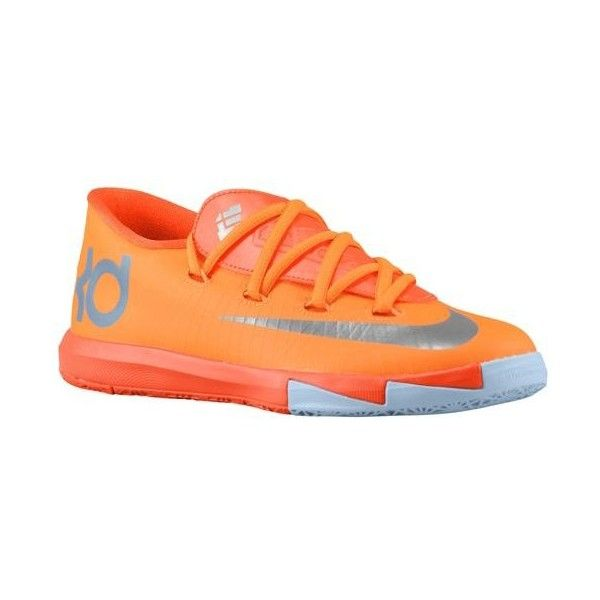 Nike KD VI Boys' Preschool ($68) ❤ liked on Polyvore featuring shoes, sneakers, nike and kd