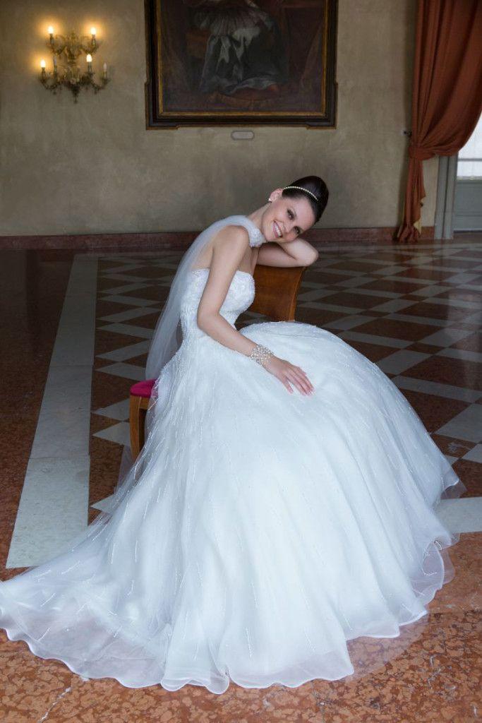 Model: Corinne - Collezione Glamour di Gloria Saccucci Spose