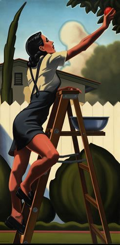 Kenton Nelson. I LOVE the understated sensuality in this guy's work.  Beautiful!