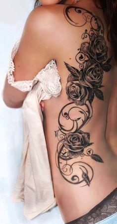 amazing #flower #arabesque #flanc #dos