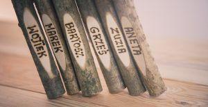 Kredka drewniana mała wypalana#kredka leszczynowa#wypalana #holzbuntstiften#woodcrayons#reklamowygadzet