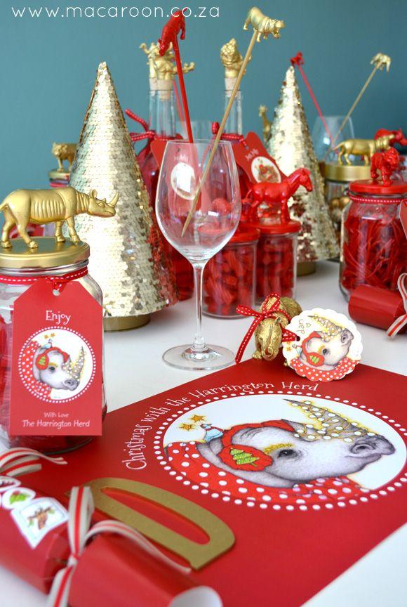 Festive Christmas with www.macaroon.co.za