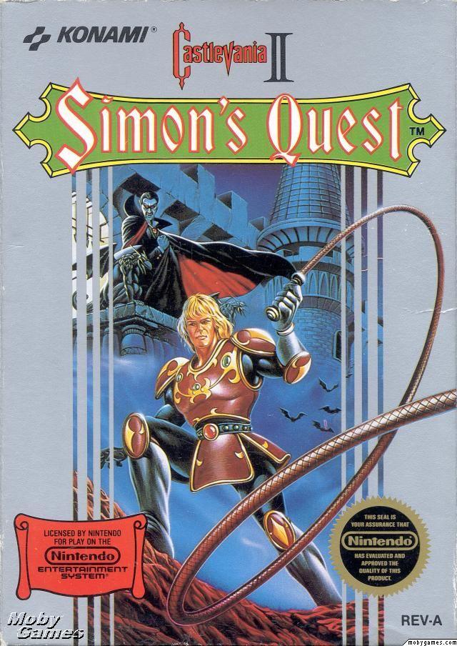 Castlevania II Simon's Quest: NES