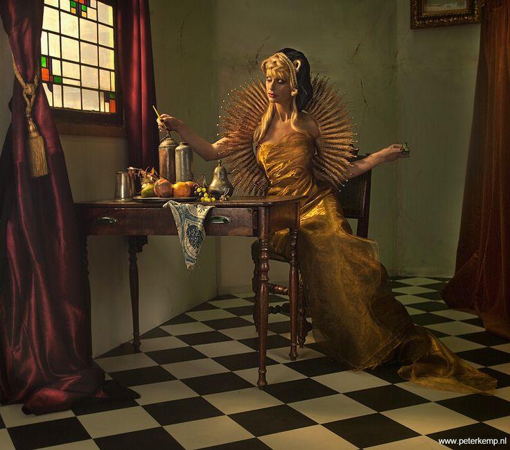Peter Kemp | Serie- Vermeer | Fine Art Photography |  Art Gallery AFK | www.arteafk.com