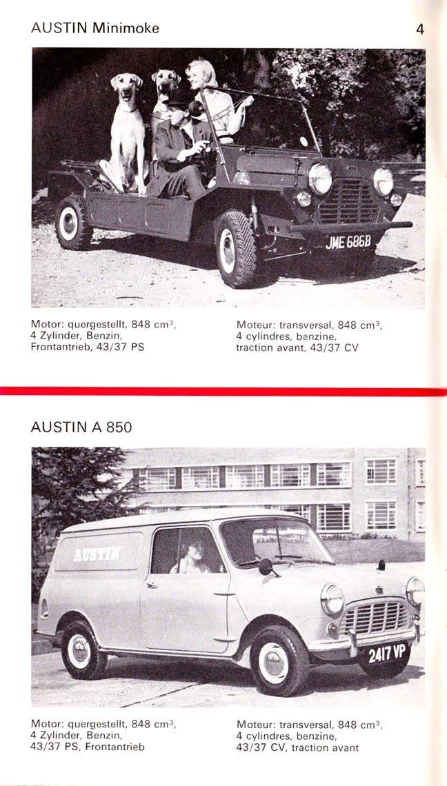 1964 Austin Vans & Trucks