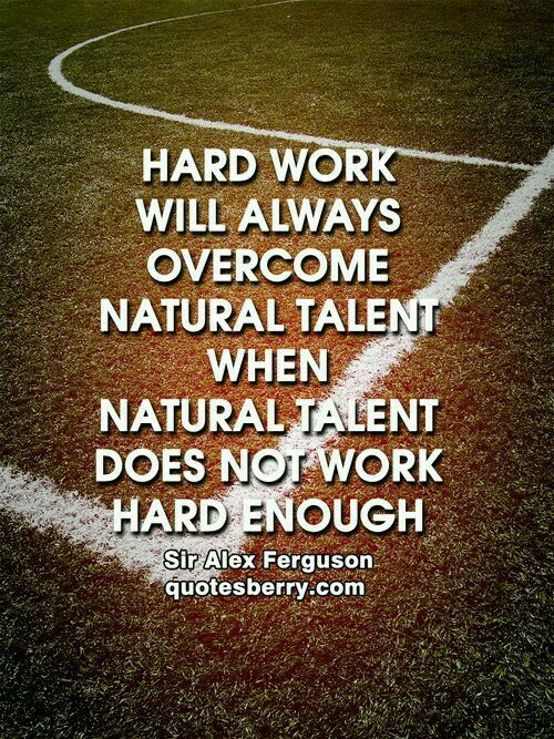 Hard work!