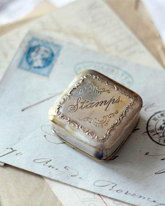 Stamp tin