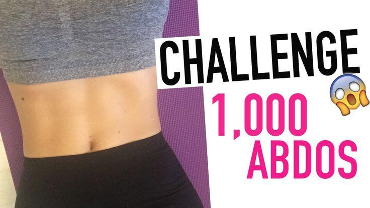 #GetSexy Challenge ventre plat et dessiné 1000 abdos ! Qui relève le déf...