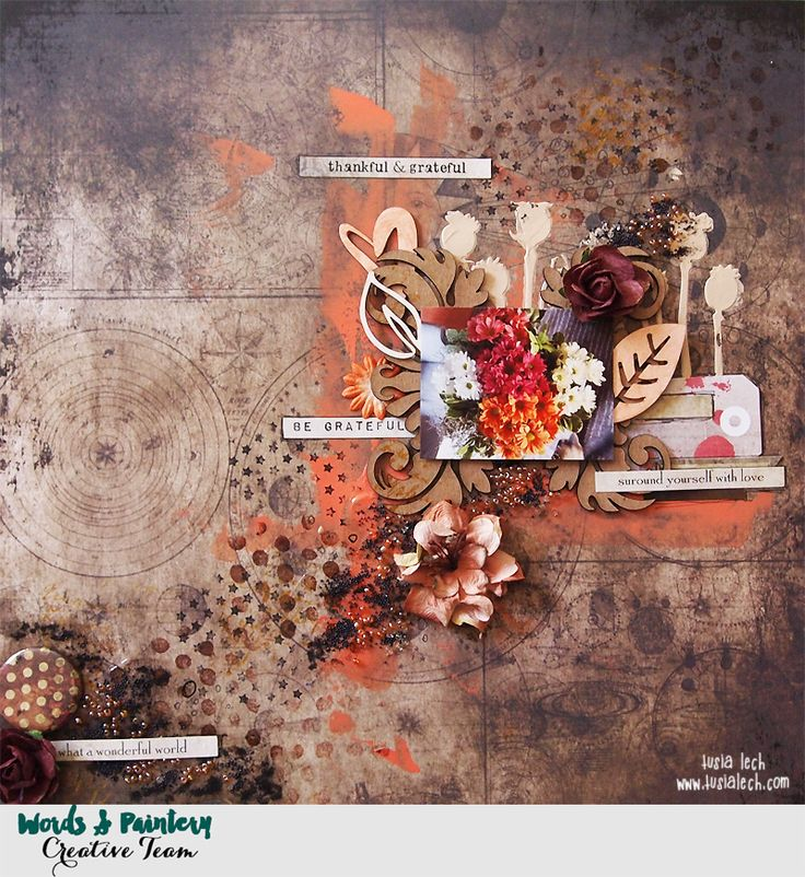 for Words&Paintery challenge (with 7 Dots Studio Fortune-teller collection)