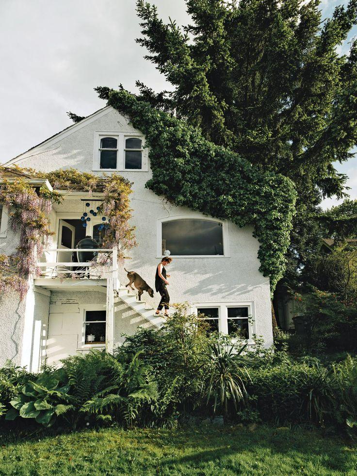 HOME & GARDEN: Un cottage à Vancouver